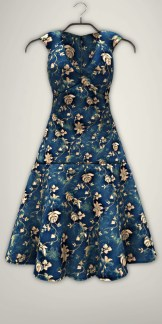 Fission-Kathy dress-Blue