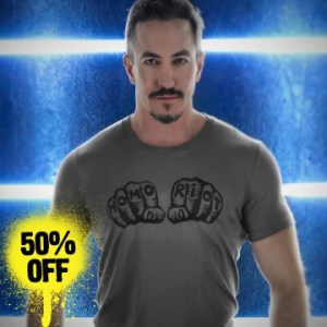 HOMO RIOT FIST T-SHIRT SALE Price $11.99