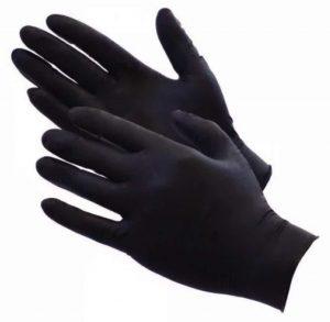 Black Matte Latex Fisting Gloves - Pack of 100 SALE $20.64($25.80)
