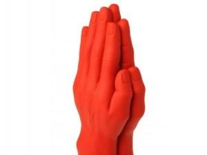 Stretch Fist No.3 Dildo - Pray - Red $66.18(25% Off) $89.07