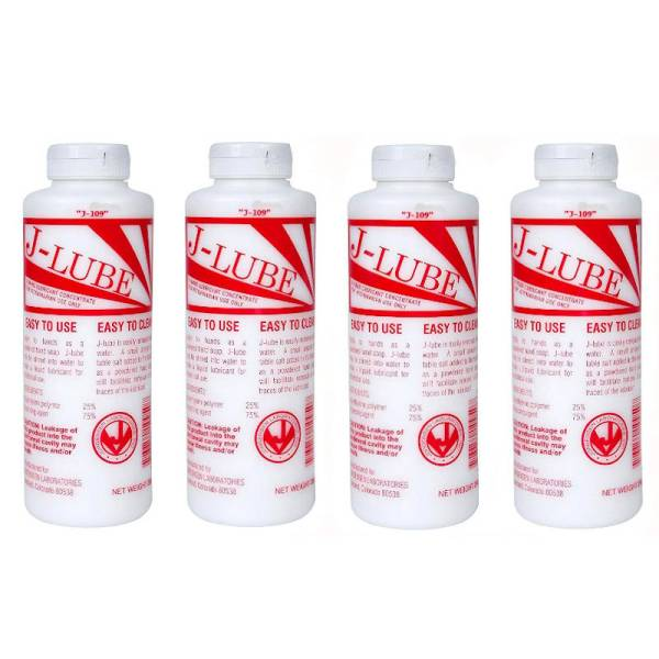 J-Lube Powder Lubricant Pack of 4