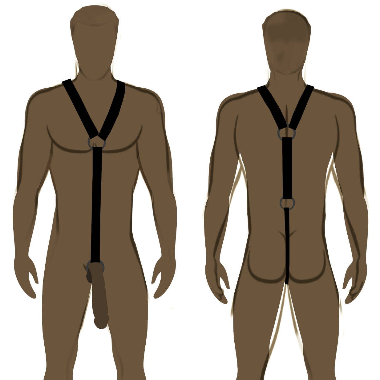 Strict Leather Full Body  Gladiator Harness
