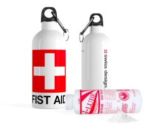 Fist Aid lubricant bottle