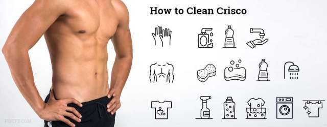 Guide how to clean Crisco lubricant