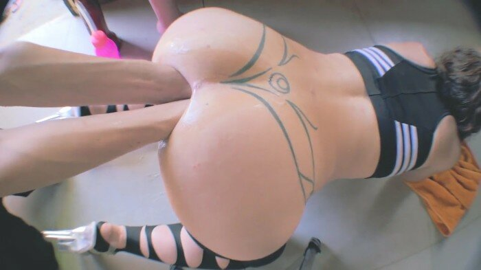 Extreme Deep Wide Anal Insertion Part 2