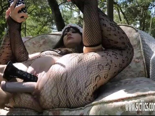 Extreme Double Fist And Dildo Fucked BBW