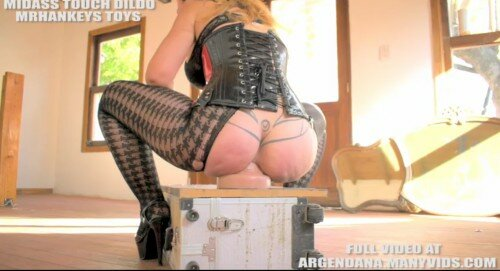 Midass Touch Dildo Full Anal Insertion By Argendana