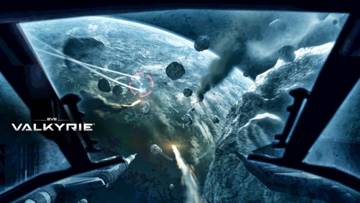 EVE Valkyrie Screenshot - Missile Lock