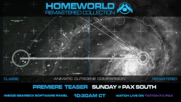Homeworld Remastered at PAX South - Cutscene Comparison