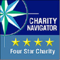 CharityWatch gives us four stars