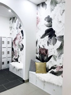 The stunning change rooms at West 85th