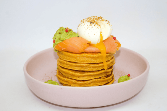 Pancakes à la patate douce