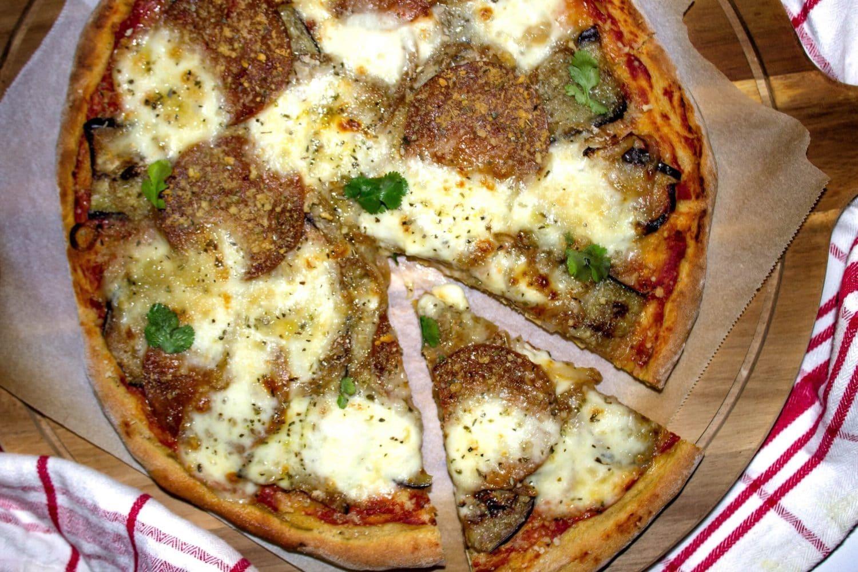 PIZZA BLÉ, ÉPEAUTRE ET LUPIN