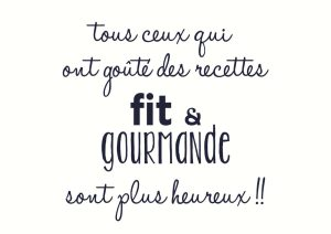 Fit et Gourmande 4