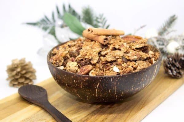 granola de noel vegan sans gluten