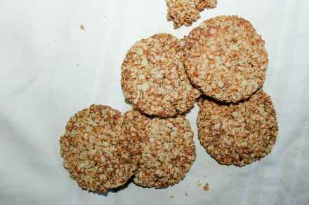 biscuits aux flocons d'avoine vegan