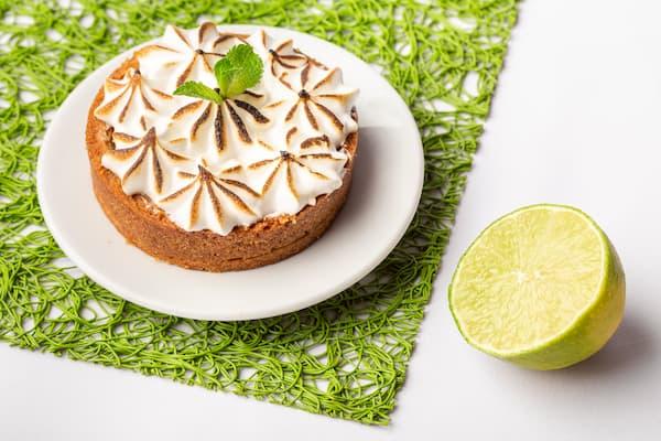 tarte citron menthe vegan sans lactose