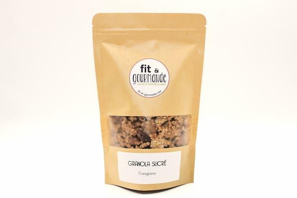 granola frangipane vegan et sans gluten