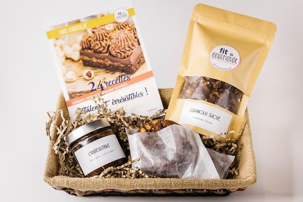 box 100% chocolat vegan et sans gluten fit et gourmande