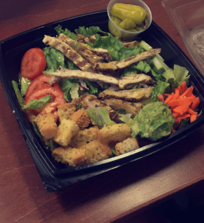 Grilled Chicken Salad - Habit