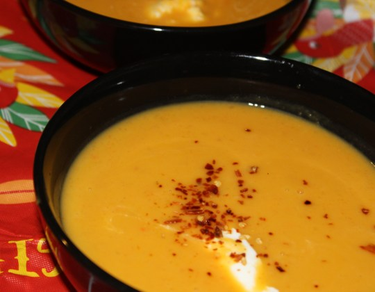 Crockpot Butternut Squash Soup Recipe, slow cooker soup recipe