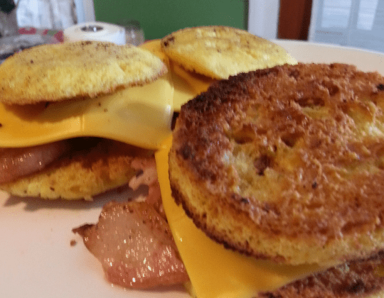 breakfast sandwich keto