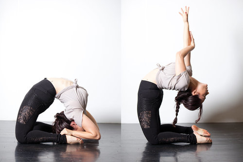 Stretching For Adults Tips Flexibility Contortion Woman Bending Backwards Fit and Bendy