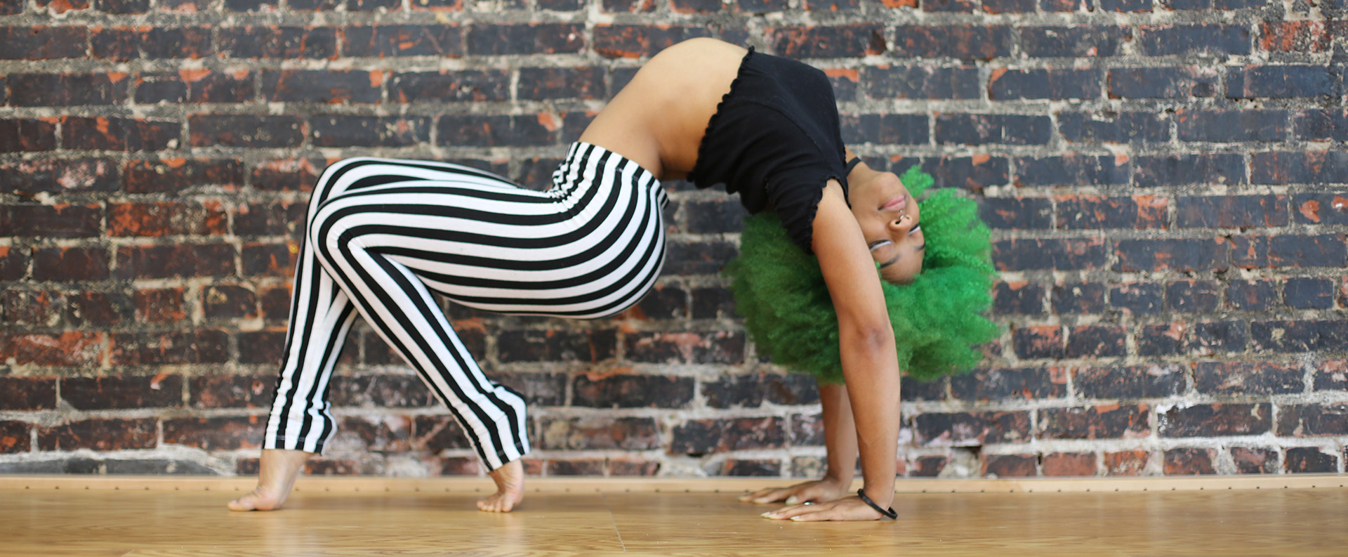 Kyla Carter contortion fit and bendy instructor