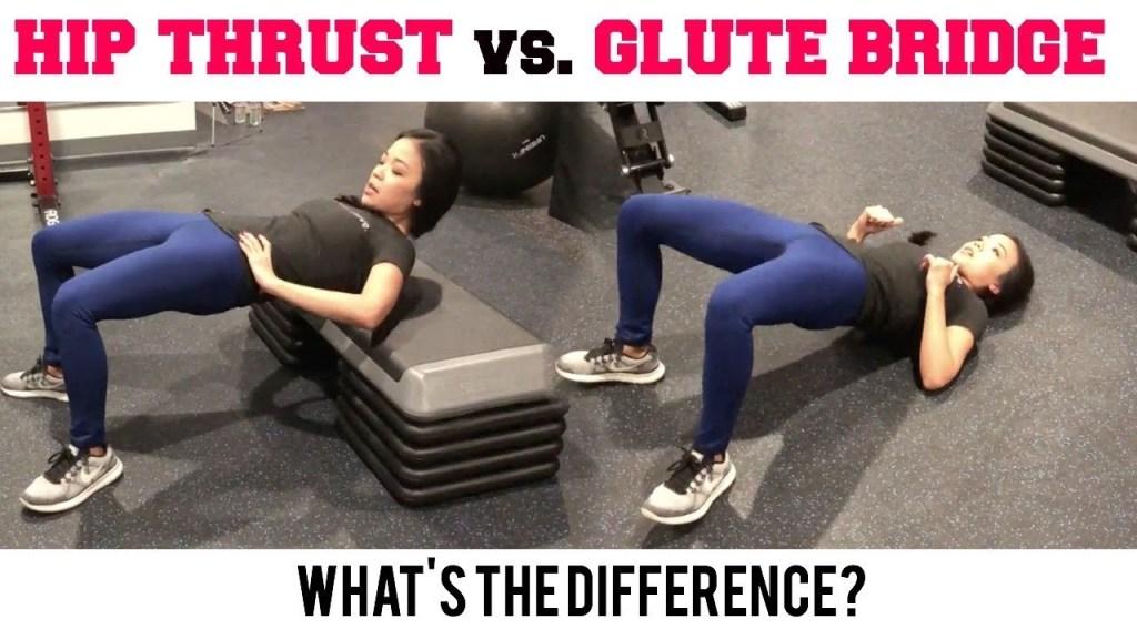 Best Butt Exercises – Glute Bridge vs Hip Thrust