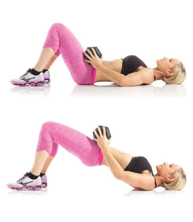 The Barbell Glute Bridge and the Dumbbell Glute Bridge