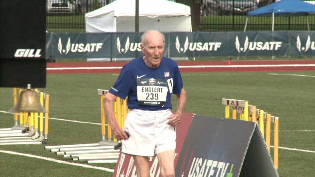 96-Year-Old Man Runs 42-Minute 5K to Break World Record for His Age Group-Featured