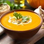 Aunt Dolores Creamy Pumpkin and Potato Soup Recipe