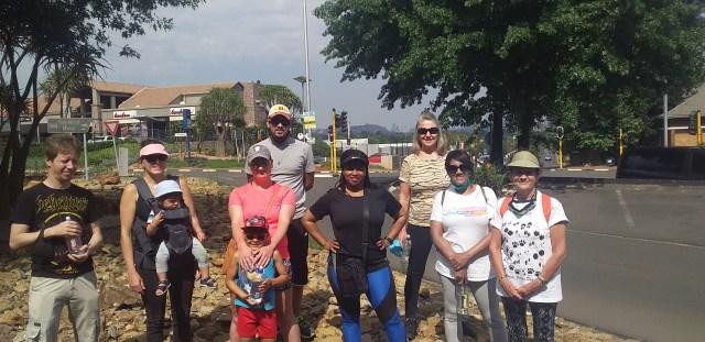 Fun Walk Bedfordview and Jacarandas in Bloom - 2020 Oct 25