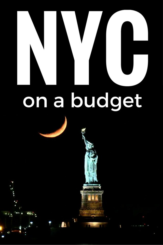 How to afford new york city on a budget