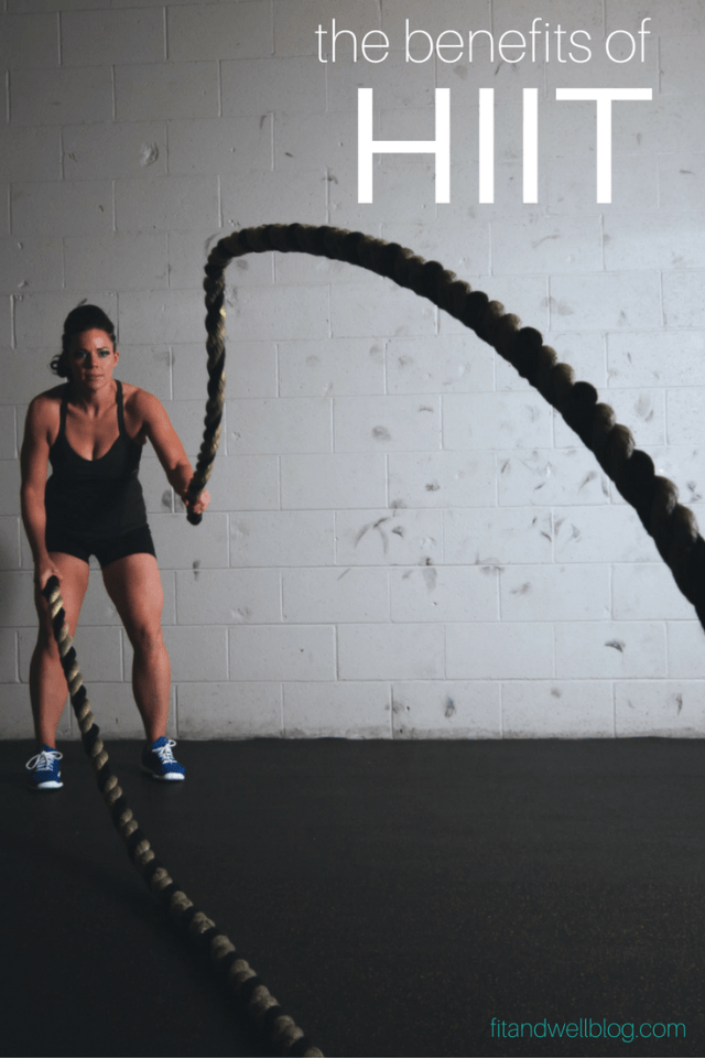 The awesome and amazing benefits of HIIT! (High intensity interval training) |Fit and Well Blog|