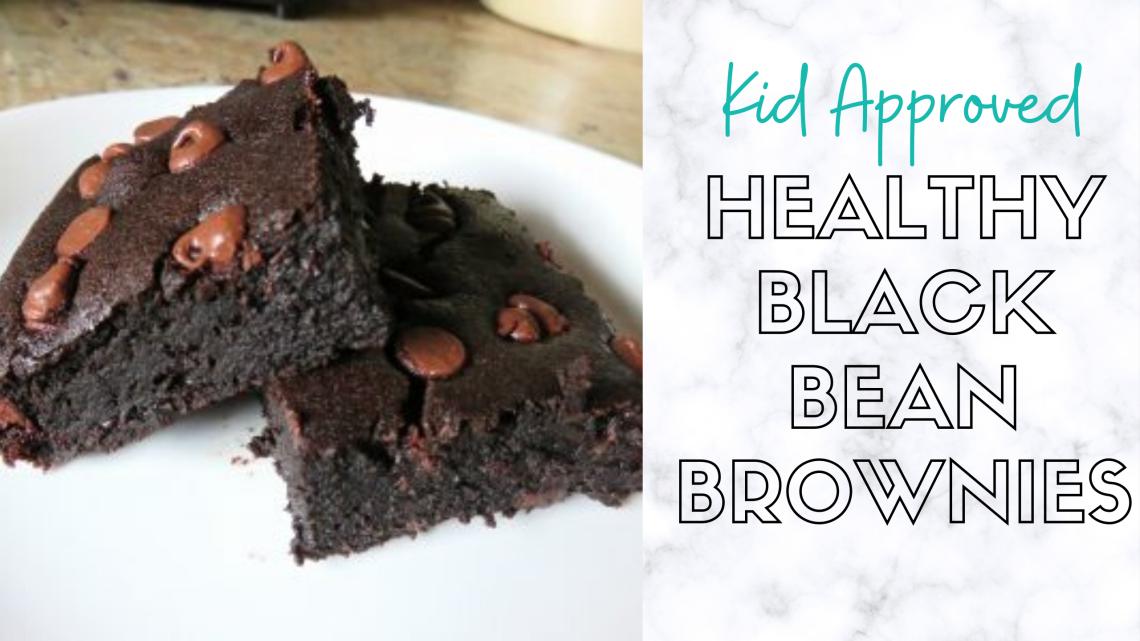 healthy black bean brownie recipe