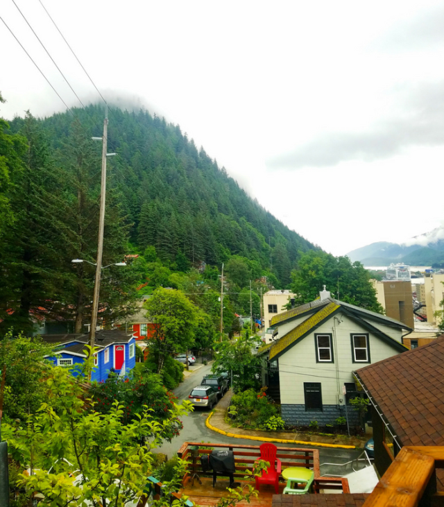 Downtown Juneau AK