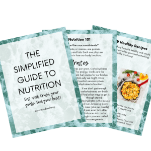 Simplified Guide to Nutrition eBook