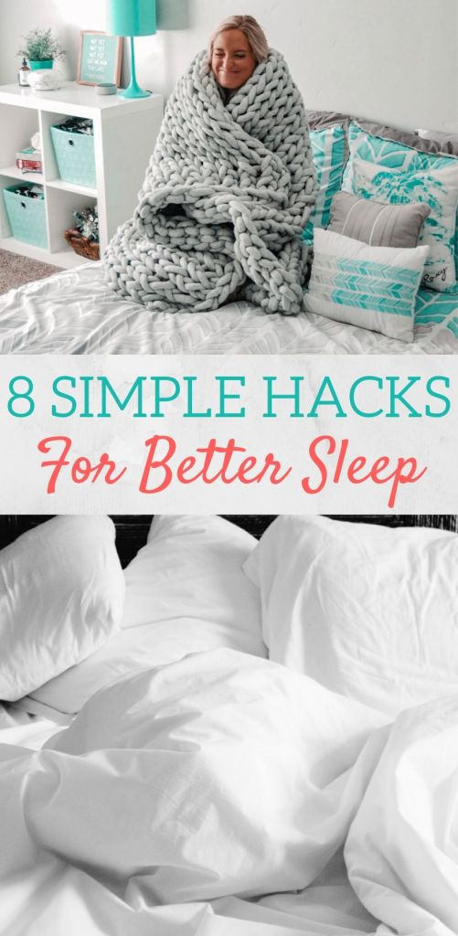 8 simple hacks for better sleep