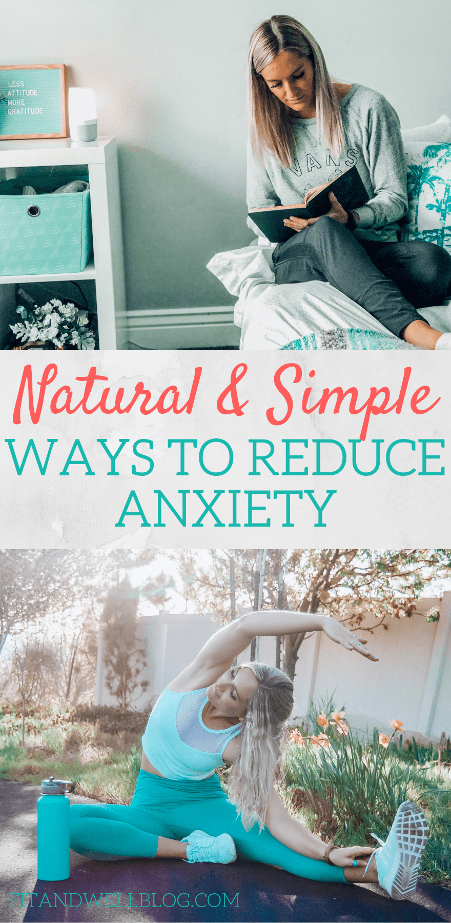 Natural ways to reduce anxiety -fitandwellblog.com