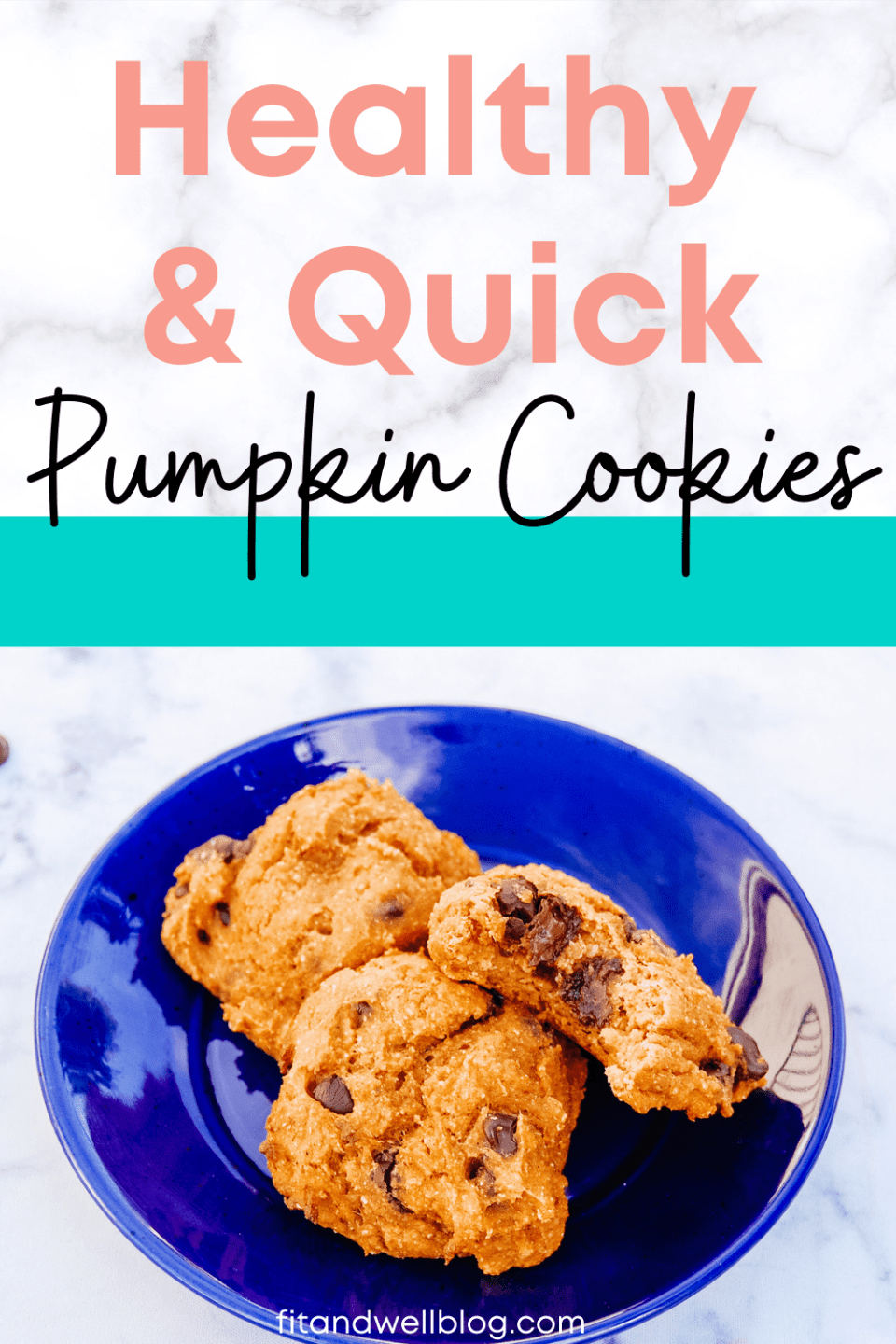 quick and healthy pumpkin cookies the whole family will love!