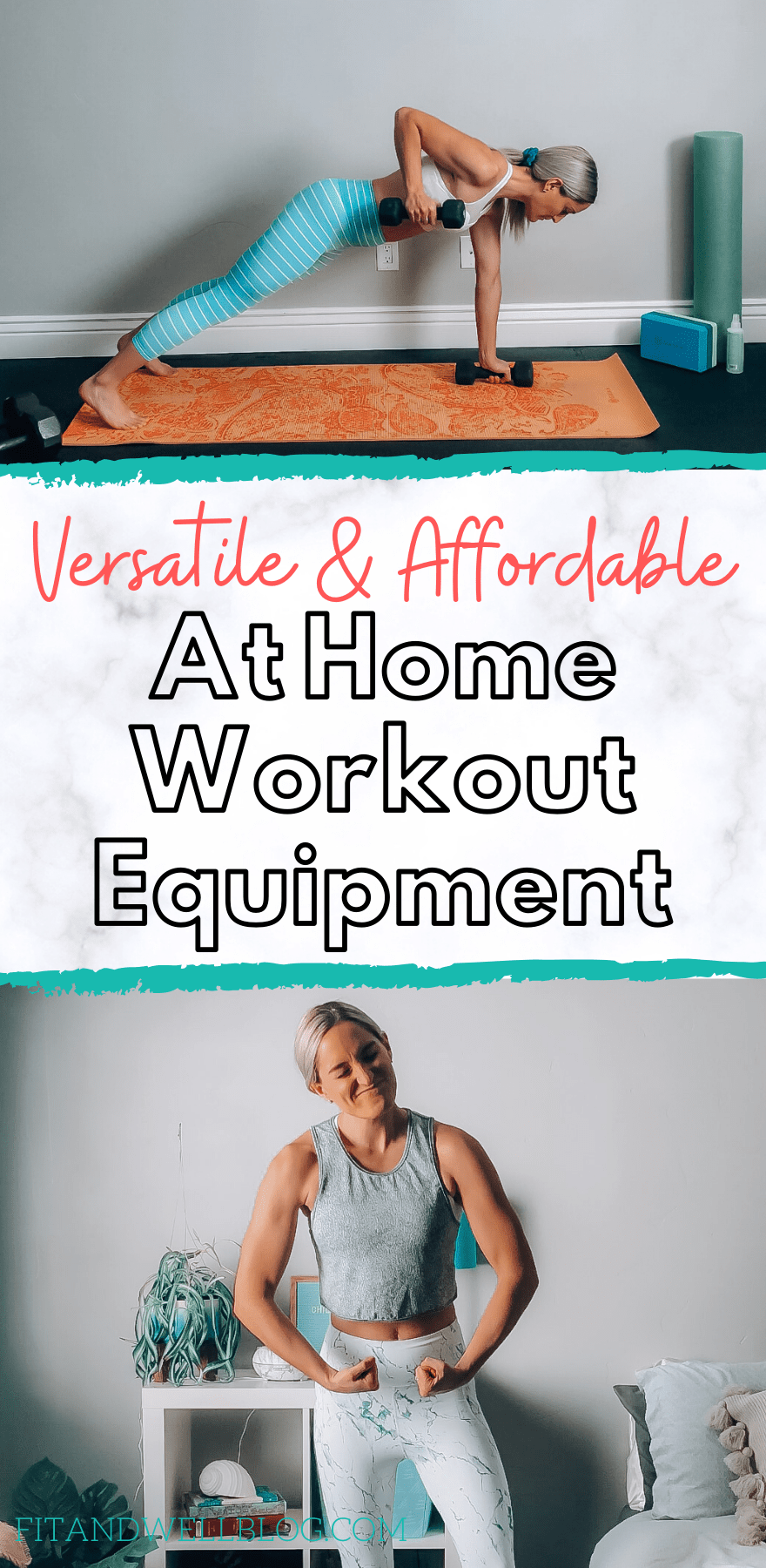 Versatile and affordable at home workout equipment ideas