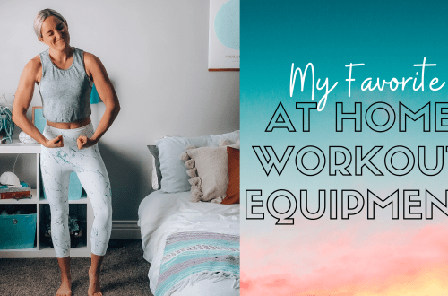 my favorite at home workout equipment
