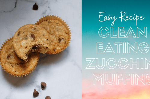 clean eating zucchini muffins