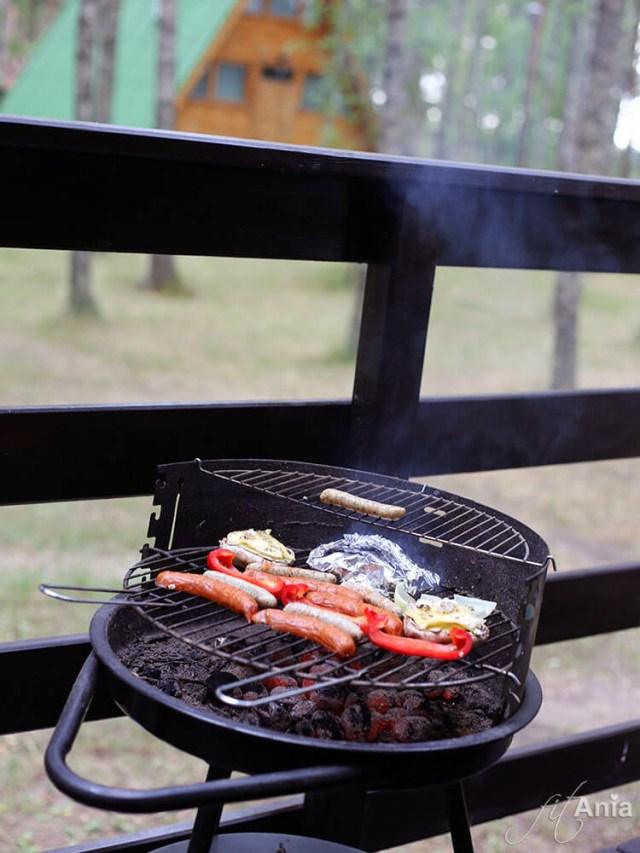 Pomysł na pieczarki z grilla podpatrzyliśmy po raz pierwszy w ośrodku we Wdzydzach Kiszewskich :)