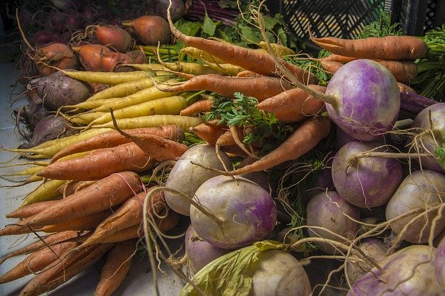 Add roasted root vegetables for variety in your diet/