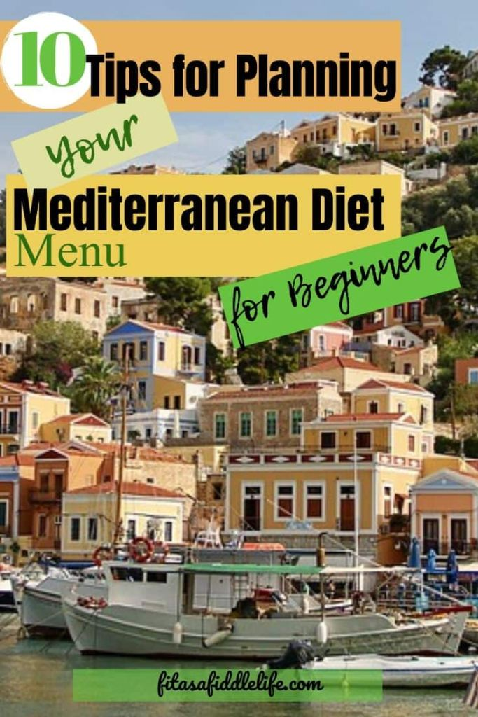 Mediterranean Food List Tips - Plan Your Meals
