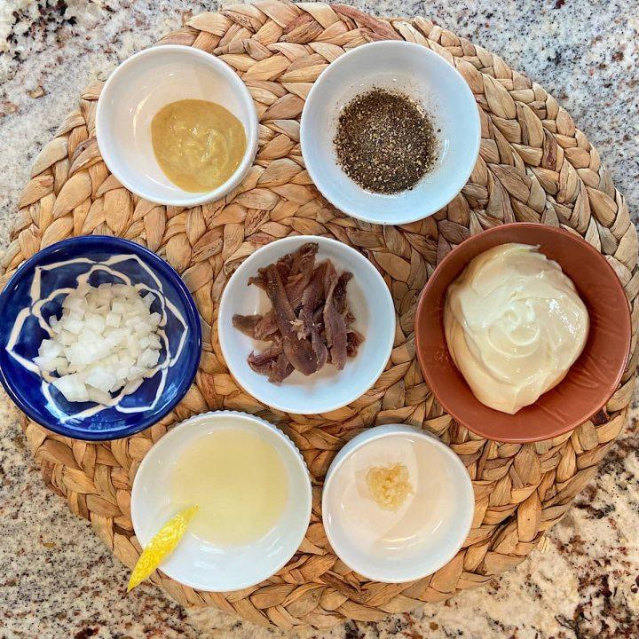 ingredients in caesar salad dressing recipe