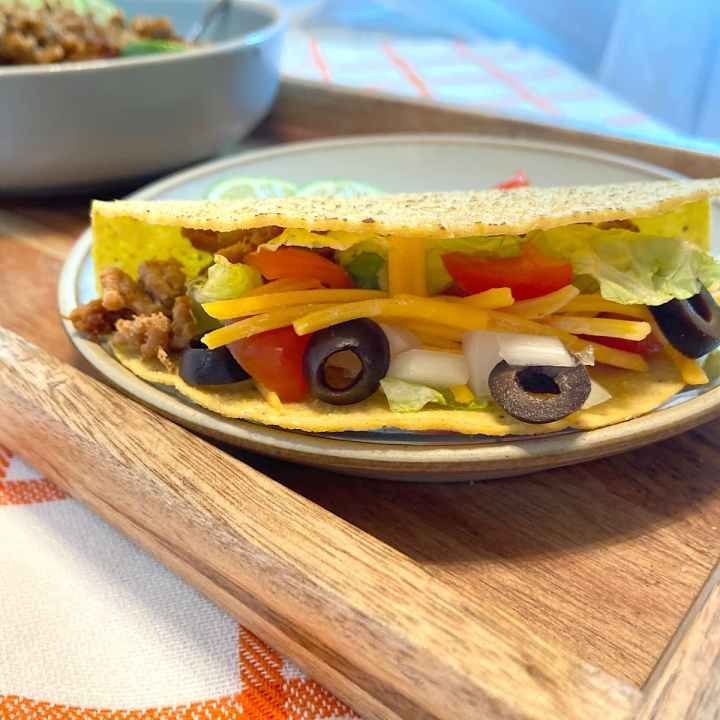 ground turkey taco