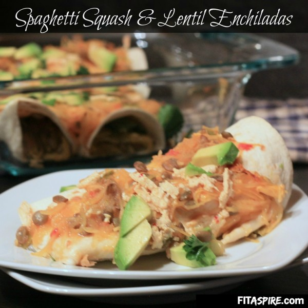 Looking for a fun twist on a traditional Mexican dish? Try these vegetarian enchiladas. They are hearty and will help you pack tons of healthy vegetables and protein into your next lunch or dinner! You can easily make these vegan too.